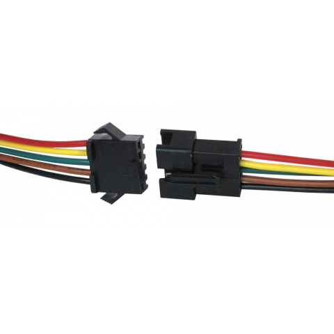 5-CONDUCTOR LOCKING CONNECTOR W/ LEADS
