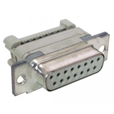 DB15S IDC CONNECTOR