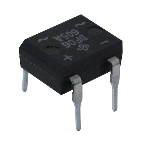 1A 600V MINI-DIP BRIDGE RECTIFIER