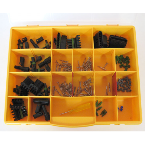 WEATHERPACK CONNECTOR KIT, 155 PC