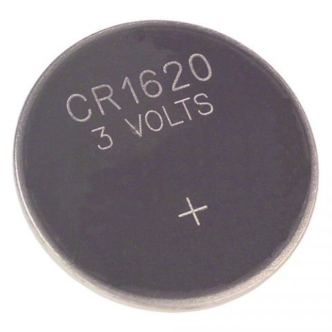 CR1620 3V LITHIUM MANGANESE DIOXIDE COIN CELL