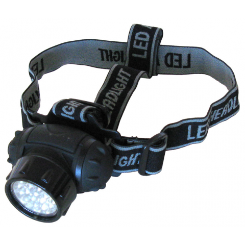 19 LED HEADLAMP W/ ADJUSTABLE STRAP