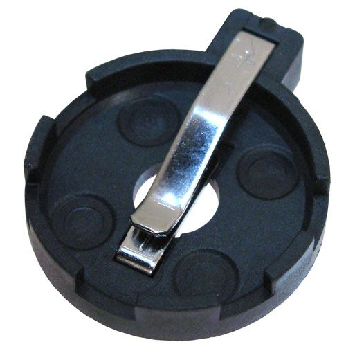 Coin Cell Battery Holder 20mm All Electronics Corp