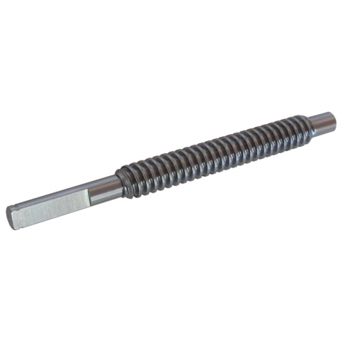 STEEL 12MM DIAMTER WORM GEAR SHAFT