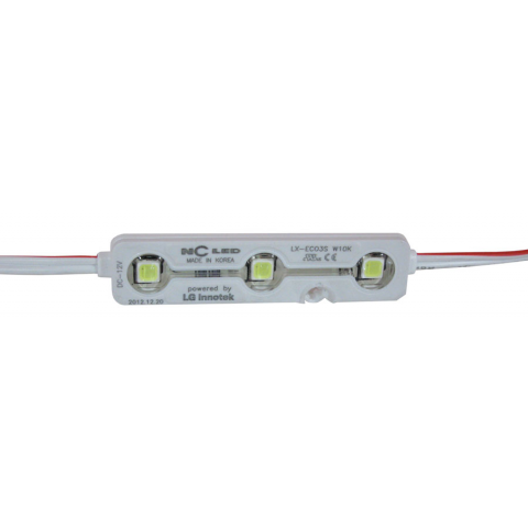 12 VOLT COOL WHITE LED MODULE STRIP