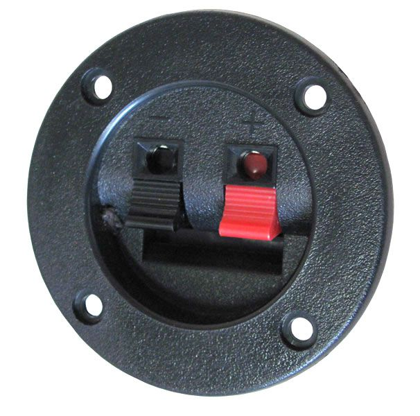 Speaker Terminals 3 Quot Round Bezel All Electronics Corp