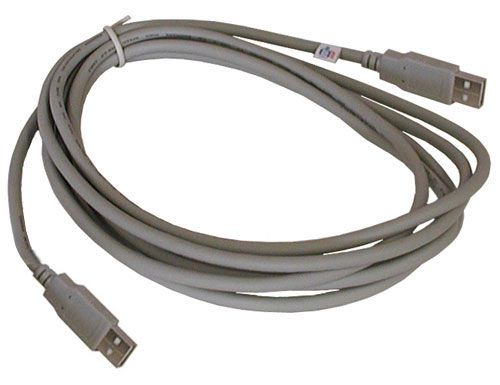 10' USB CABLE, A-A