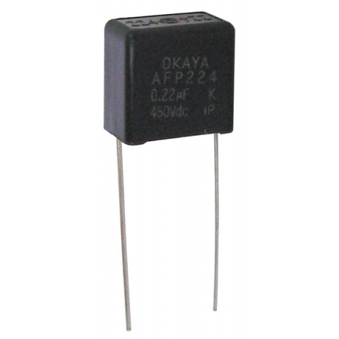 0.22UF 450 V METALLIZED POLYPROPYLENE CAPACITOR