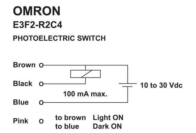 photoelectric sensor used all electronics corp