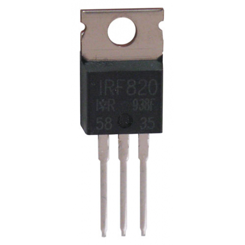 IRF820 N-CHANNEL POWER MOSFET