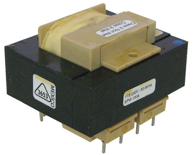 12V / 1.66A OR 24VCT / 830MA PC MOUNT TRANSFORMER