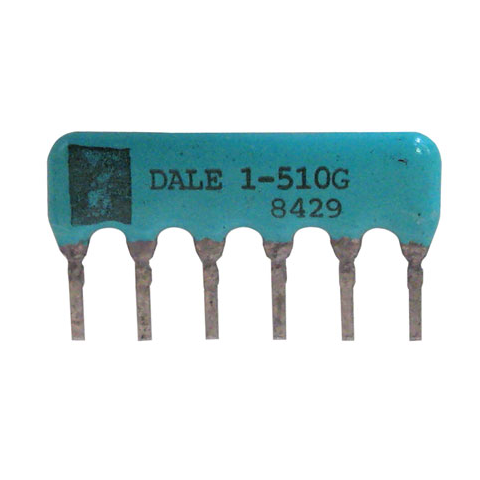 SIP RESISTOR NETWORK, 51 OHM, BUSSED