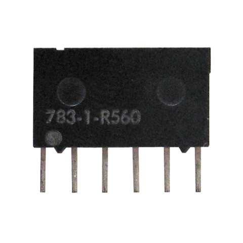 SIP RESISTOR NETWORK, 560 OHM, BUSSED