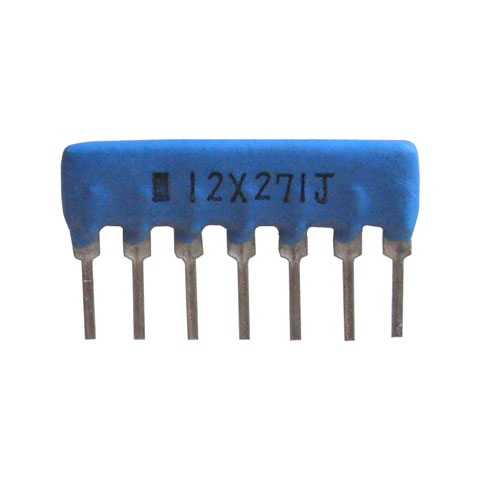SIP RESISTOR NETWORK, 270 OHM, BUSSED