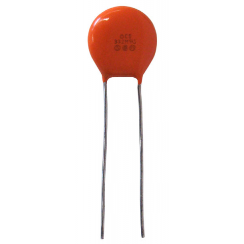 3300PF 400V AC LINE RATED CERAMIC DISC CAPACITOR