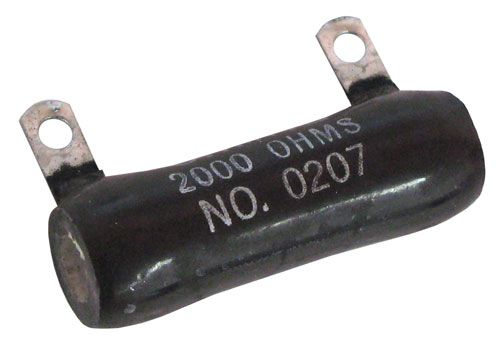 2K OHM 25 WATT CERAMIC RESISTOR