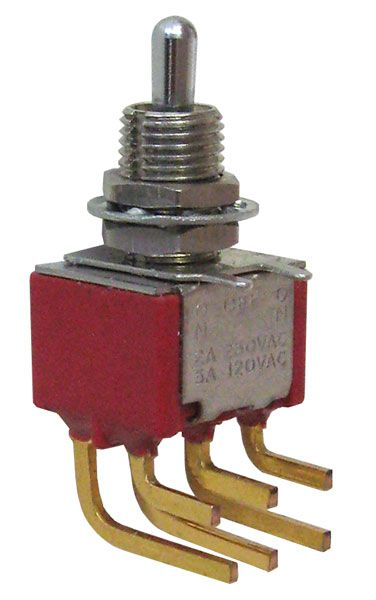 Dpdt Mini Toggle Switch On Off On All Electronics Corp