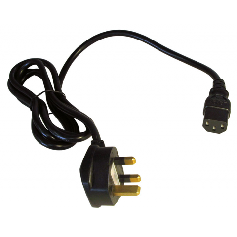 IEC POWER CORD FOR UK