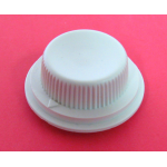 IVORY KNOB FOR 6MM KNURLED SHAFT