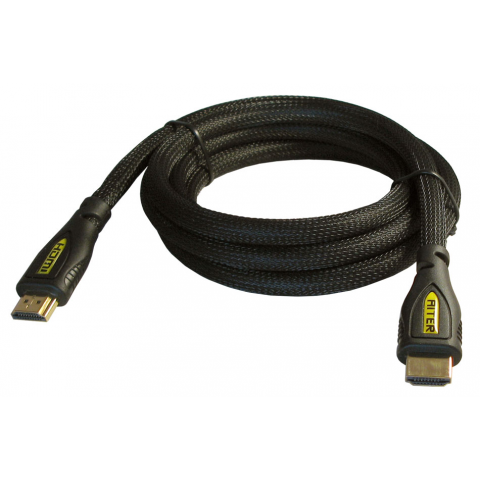 6' HDMI CABLE W/ BRAID JACKET