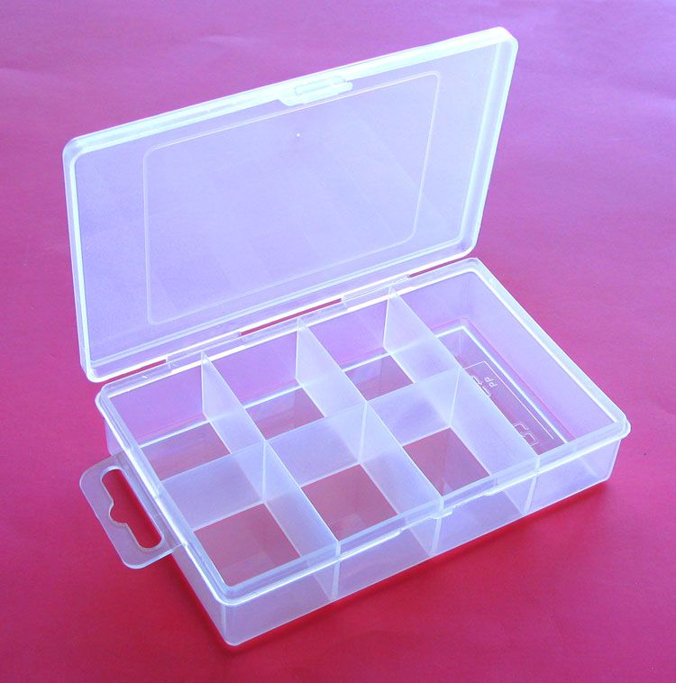7 COMPARTMENT UNBREAKABLE PLACTIC STORAGE BOX