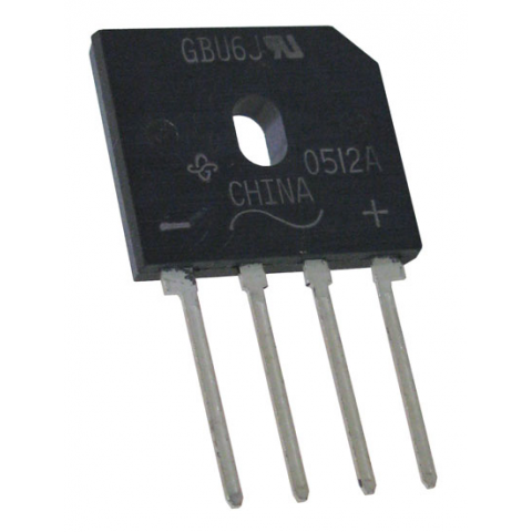 6A 600V BRIDGE RECTIFIER
