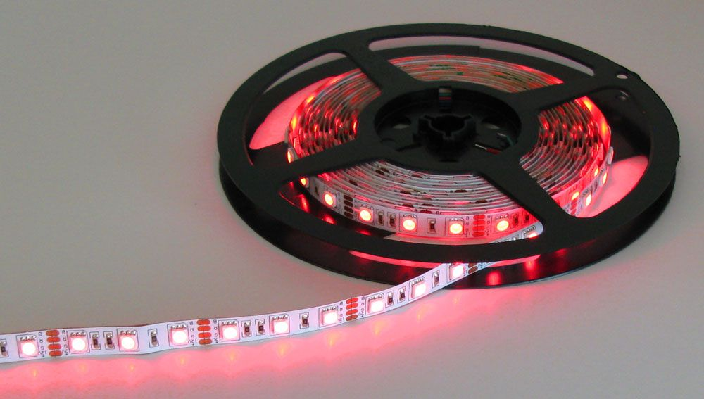 Red Green Blue 12v Led Strip All Electronics Corp