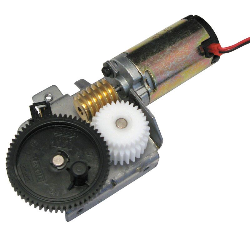 Buhler Motor W Worm Gear Drive All Electronics Corp