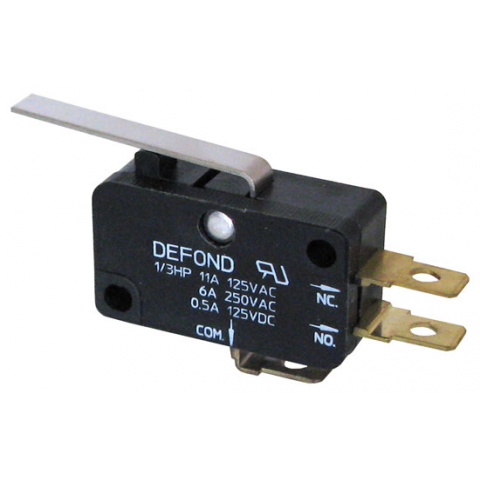 11a snap switch w lever all electronics corp