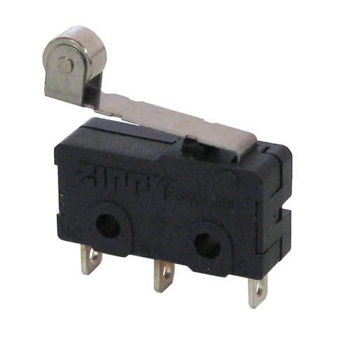 10A SNAP-ACTION SWITCH W/ SHORT ROLLER LEVER