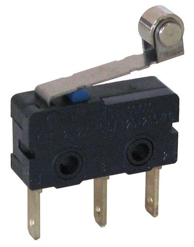 10.1A SNAP-ACTION SWITCH W/ SHORT ROLLER LEVER