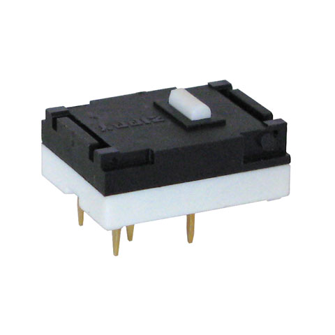 DPDT LOW-PROFILE SNAP-ACTION SWITCH