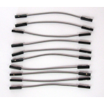 70MM F-F JUMPER WIRES, 10/PK