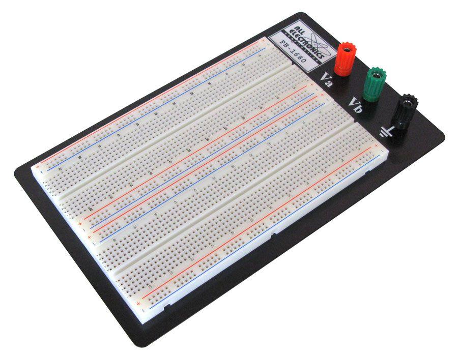 BREADBOARD, 1680 CONTACTS