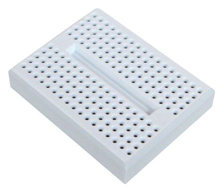 SOLDERLESS BREADBOARD, 170 CONTACTS
