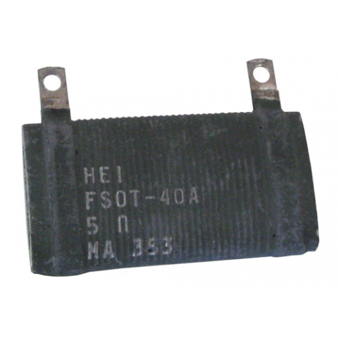 5 OHM 40W WIRE WOUND RESISTOR