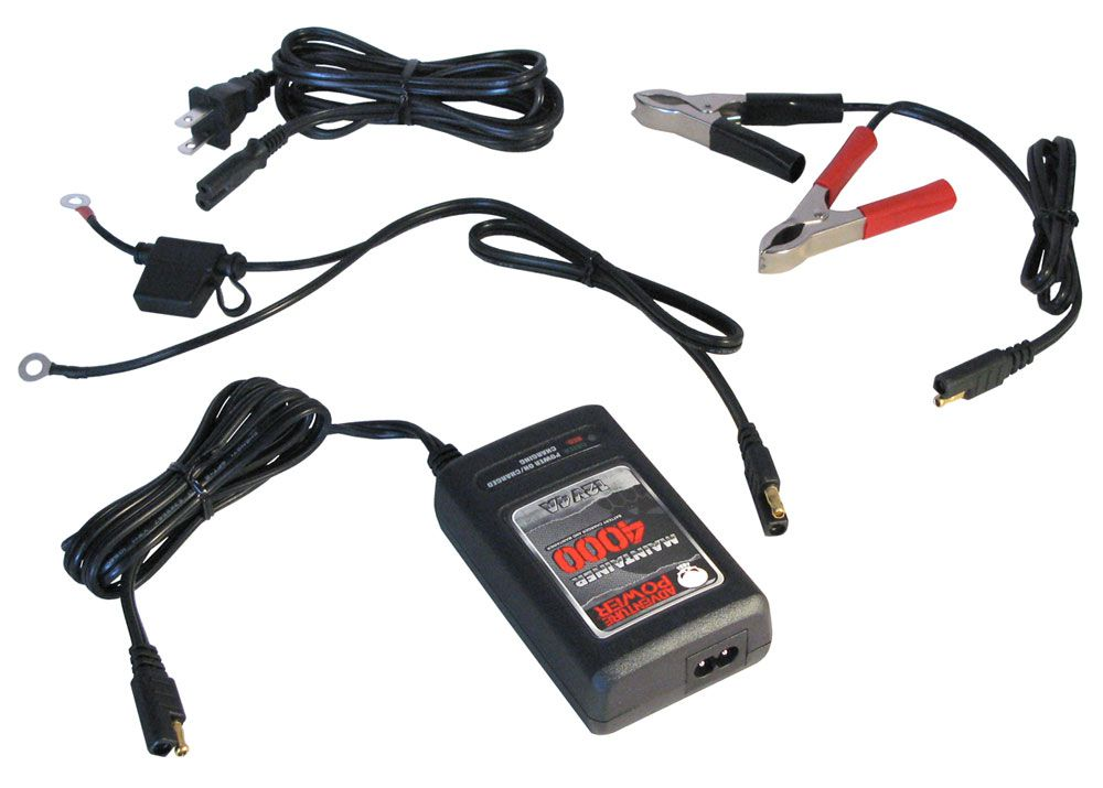 4A BATTERY CHARGER / MAINTAINER