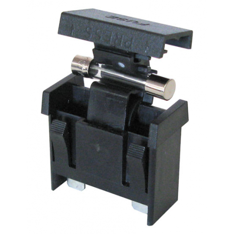 FLIP-TOP PANEL MOUNT FUSEHOLDER FOR 3AG FUSE