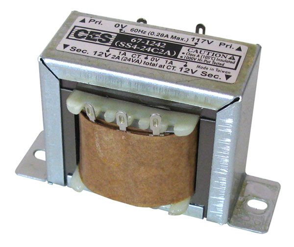 24 Vct 1a Transformer All Electronics Corp