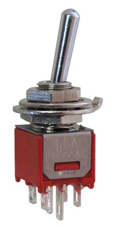 dpdt on on sub mini toggle switch all electronics corp rh allelectronics com