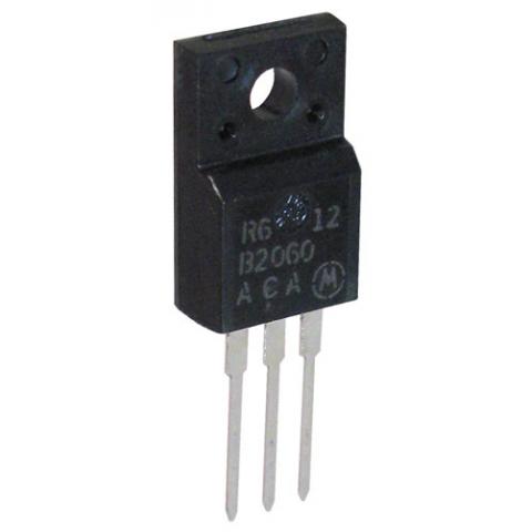 DUAL SCHOTTKY RECTIFIER, 20A 60V