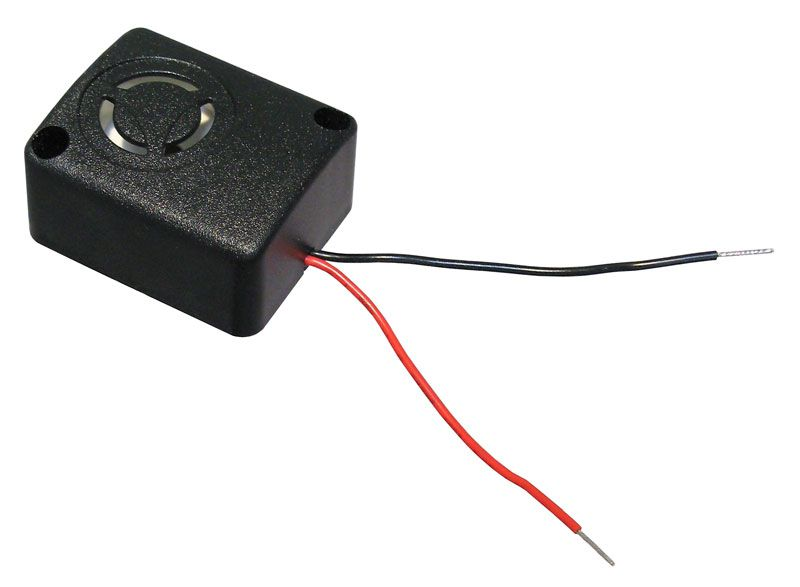 EXTRA-LOUD MINI PIEZO SIREN