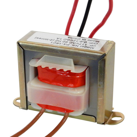 12 V.C.T. @ 1 AMP POWER TRANSFORMER