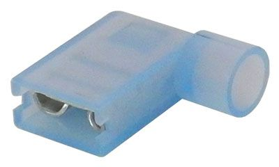 "1/4"" BLUE FULLY INSULATED FEMALE, FLAG"