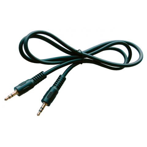 3' AUDIO CABLE W/ 3.5MM M-M STEREO PLUGS