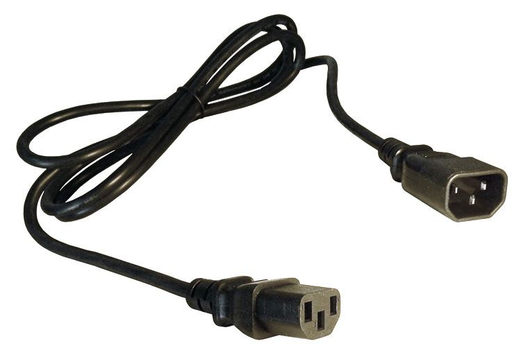 6' IEC POWER JUMPER CABLE