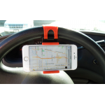 PHONE HOLDER, CAR STEERING WHEEL MOUNT