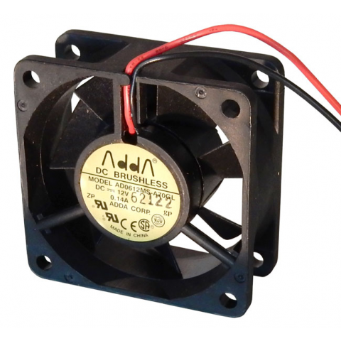 12 VDC 60MM SQUARE FAN, AD0612MS-A70GL