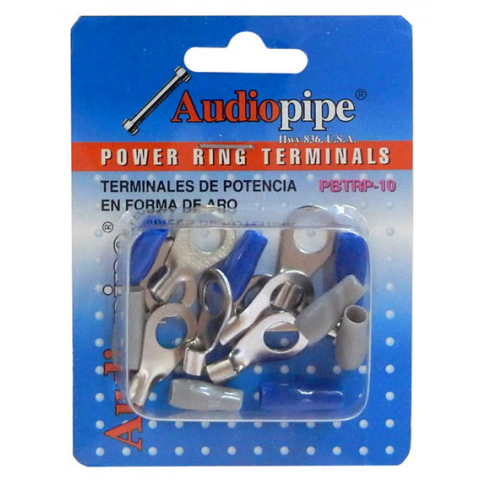 POWER RING TERMINALS FOR AWG 10 WIRE