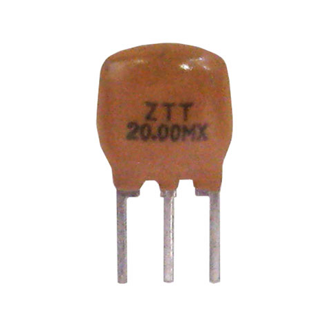 20 MHZ CERAMIC RESONATORS